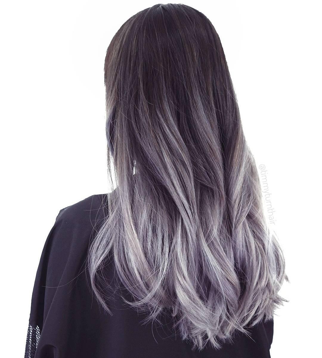Окраска волос в пепельный цвет в картинках